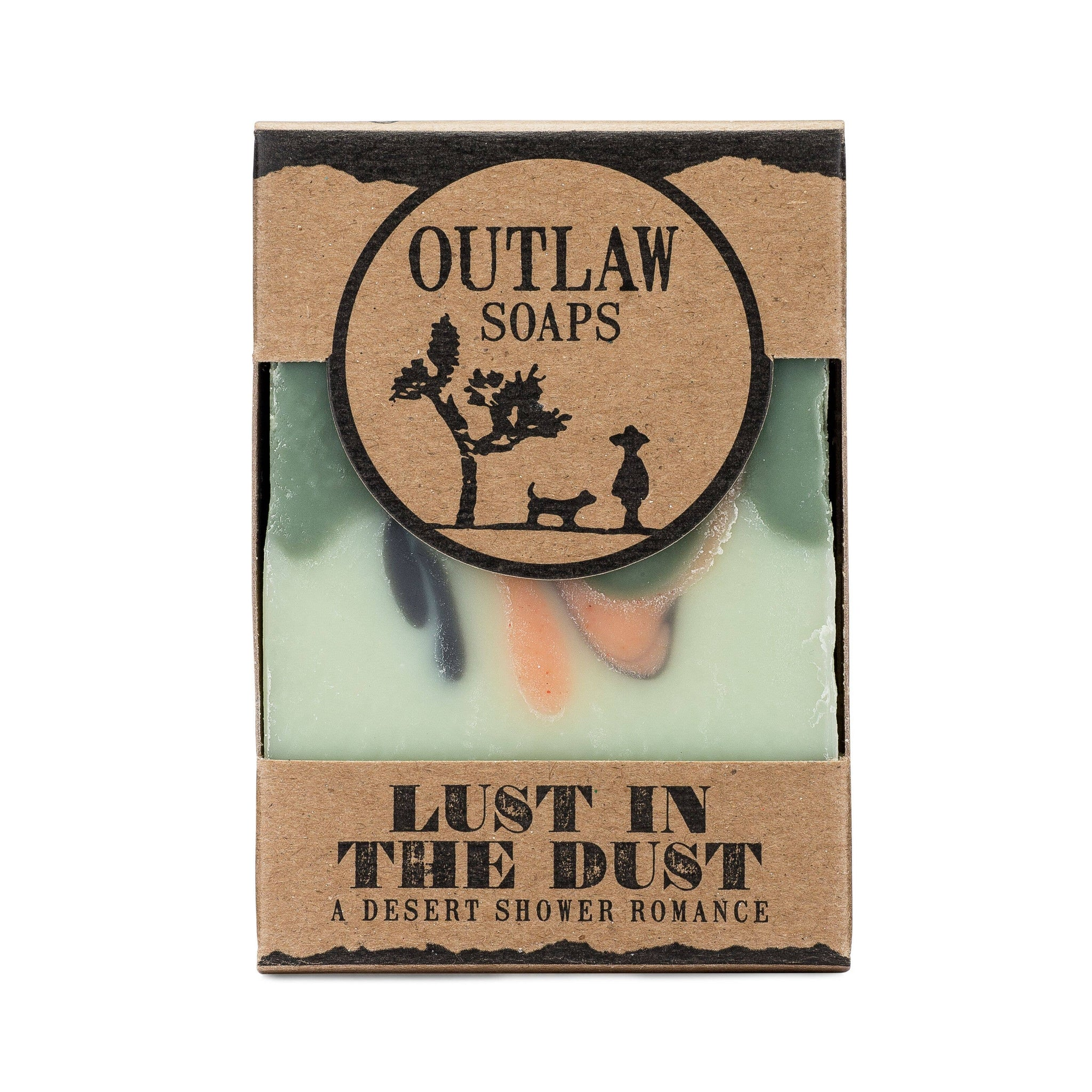 Outlaw - Lust in the Dust  Handmade Bar Soap