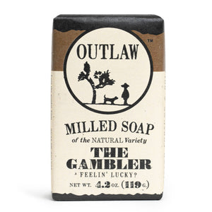 Outlaw - The Gambler Whiskey Milled Soap