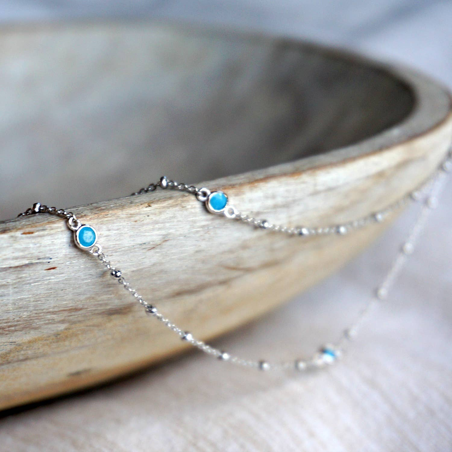 Alice Turquoise Long Necklace