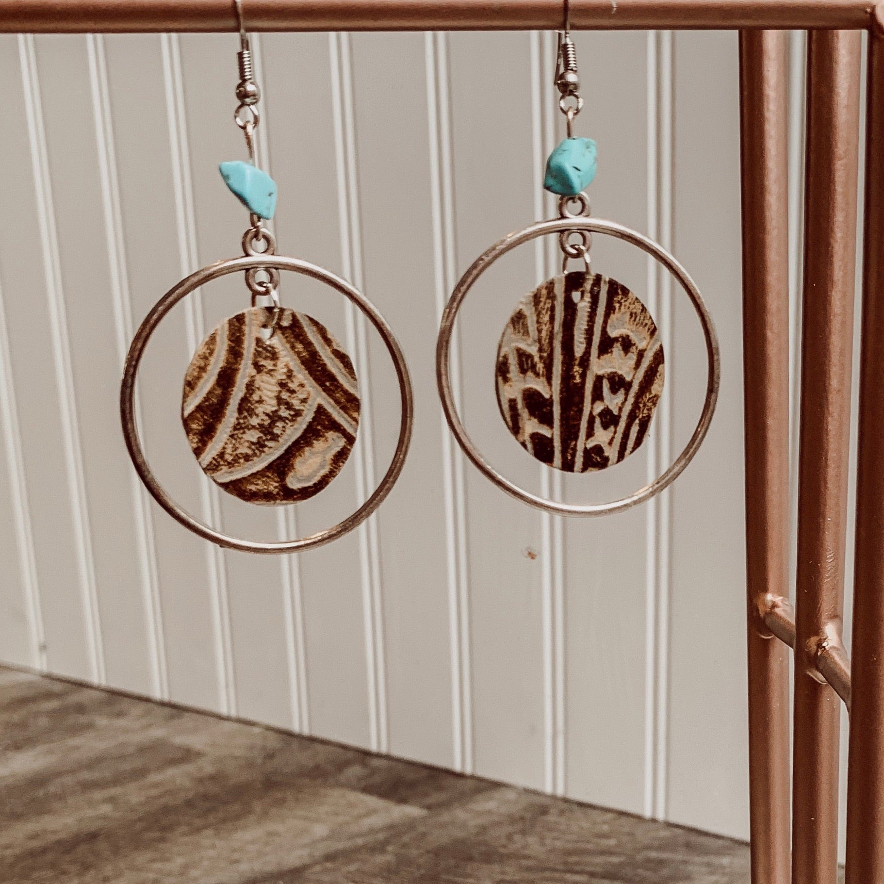 Arizona Circle Hoop Earrings