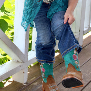 Dallas Boot in Turquoise