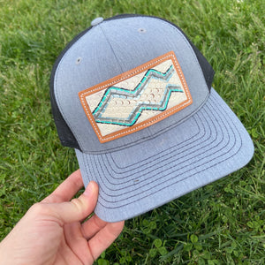 Turquoise Snake McIntire Cap