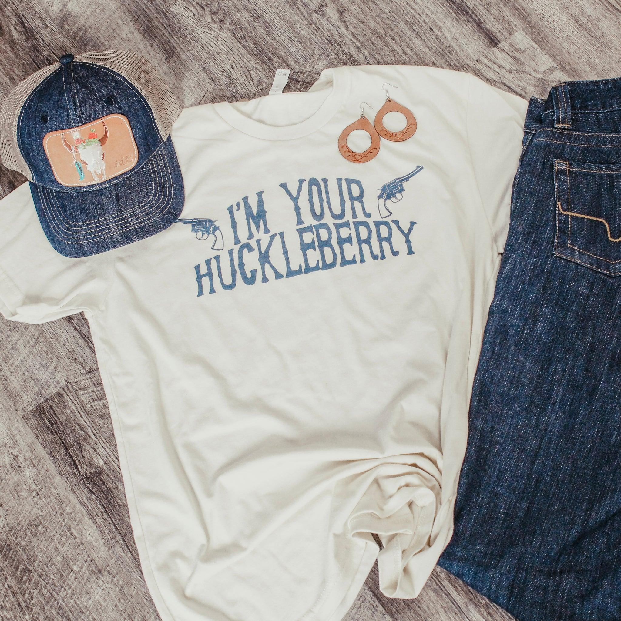 I'm Your Huckleberry Tee