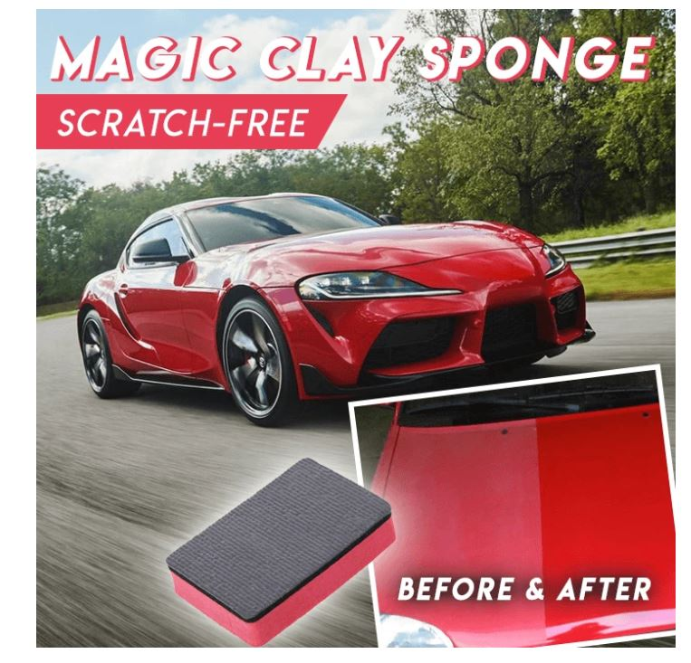 Magic Clay Sponge