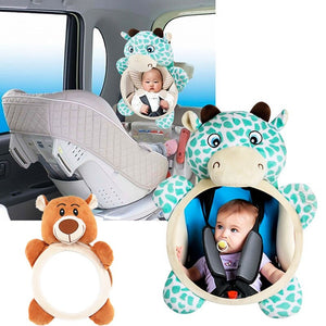 Safety Seat Car Back Mirror Baby Easy View Baby Rear Facing Mirrors Baby Care Rearview Mirrors Kids Toddler Monitor Auto Safety