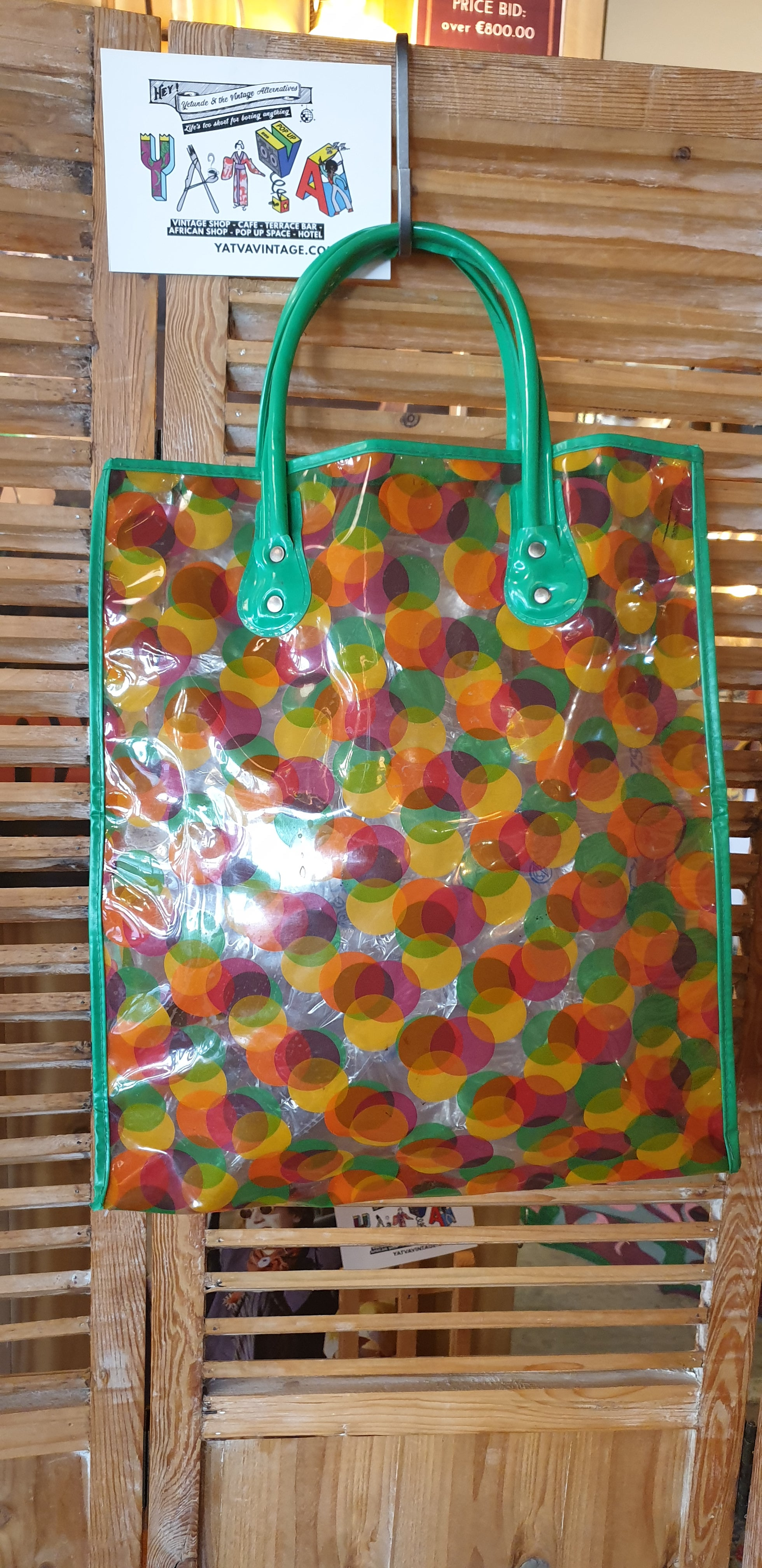 1980s Shopping Bag