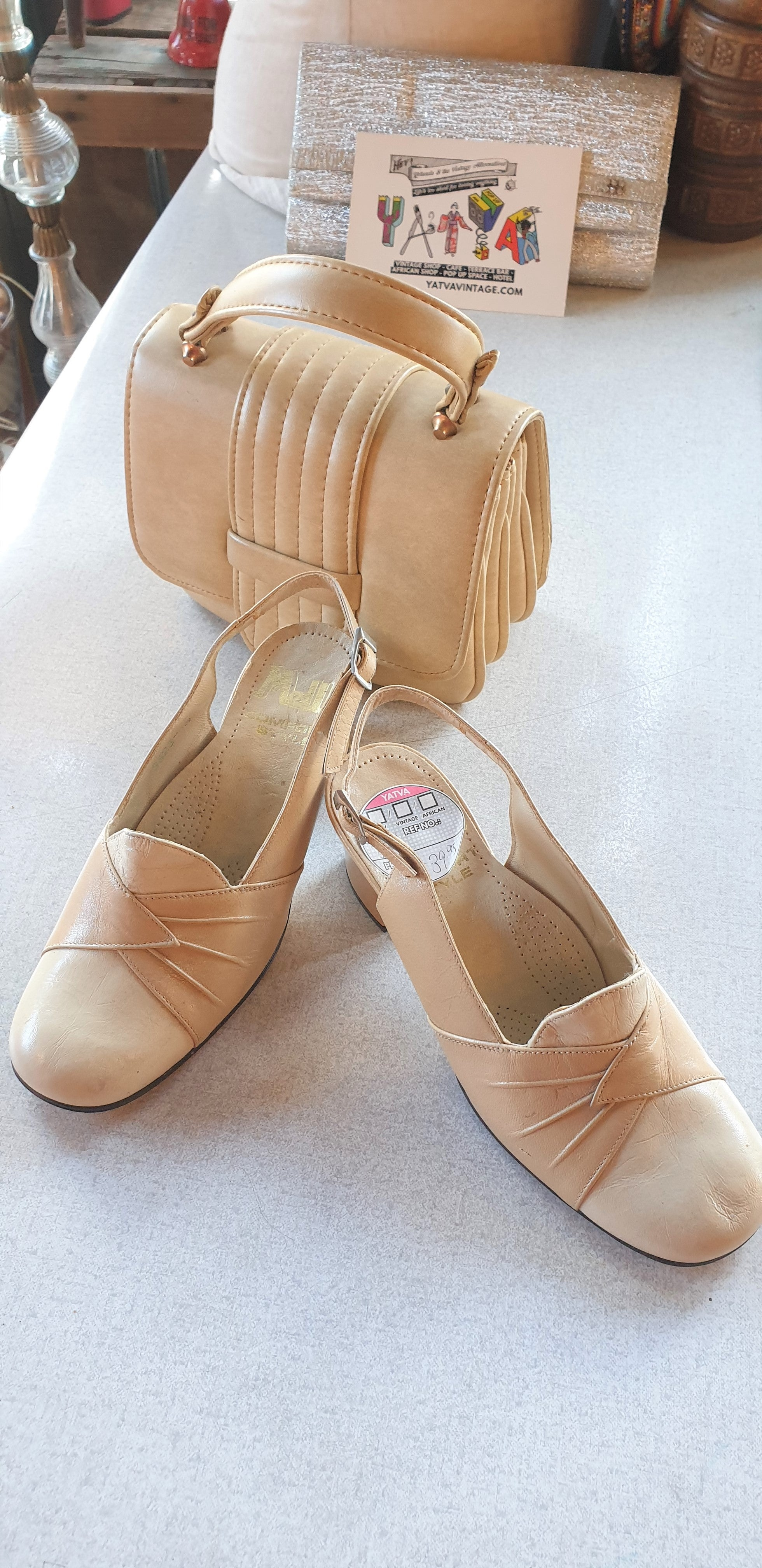 1960s Brand New Slingback Shoes