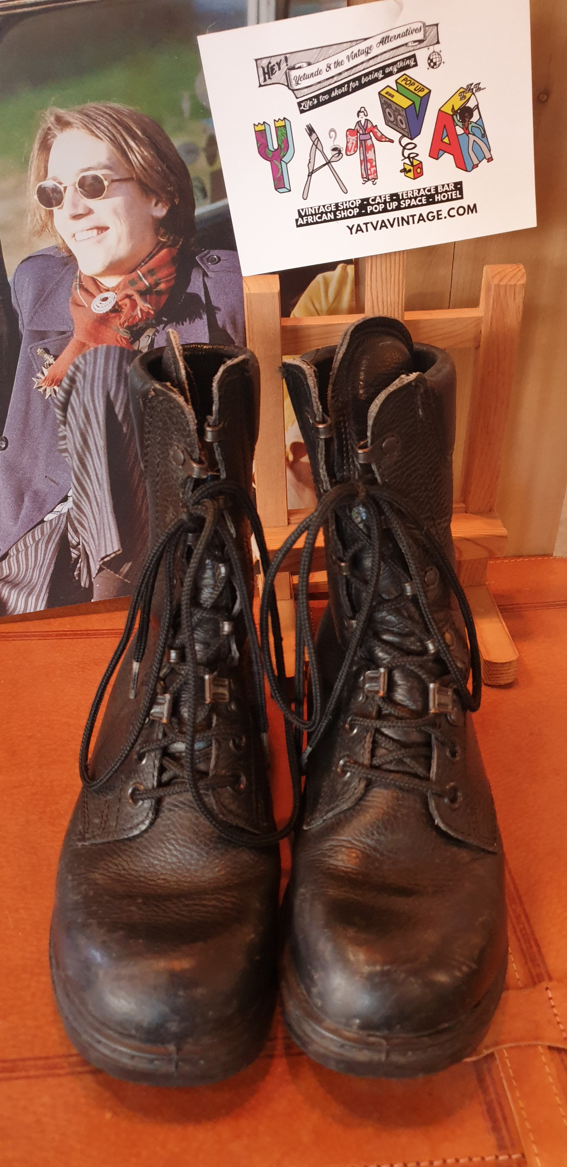 1960s Army Ankle Boots