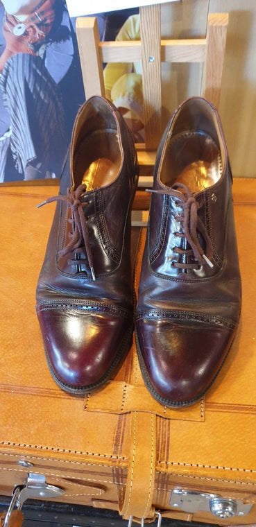 1980s Van Bommel Brogue Shoes