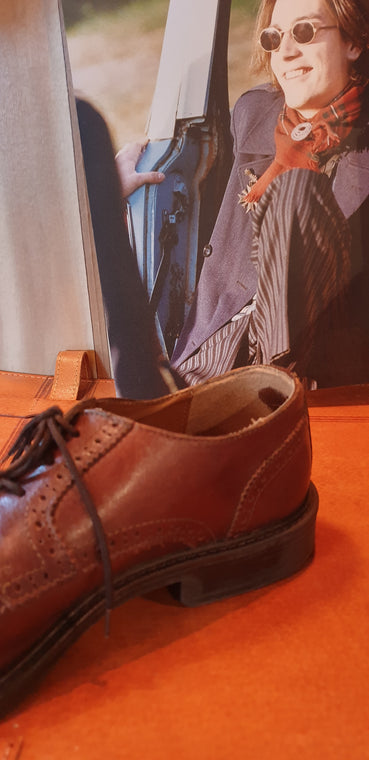 1980s Sergio Classic Brogue Shoes