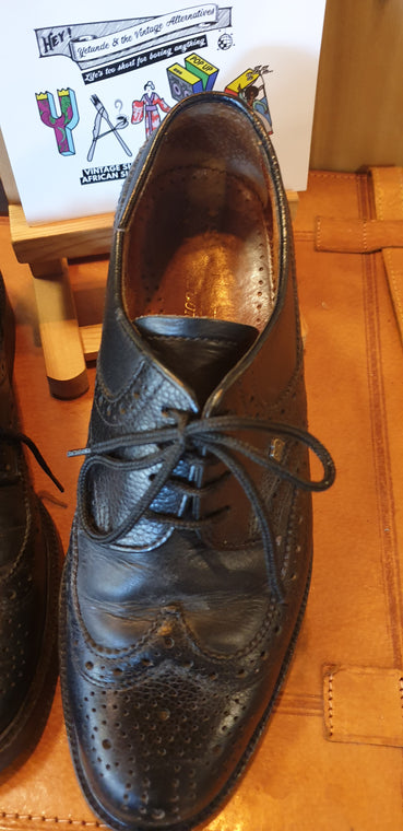 1980s Brogue Shoes