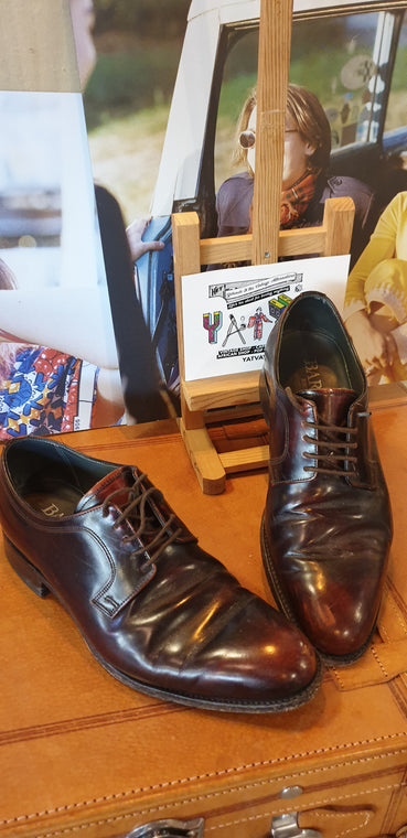 1980s Baker of London Brogue Shoes