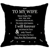 NIDITW Daughters Birthday Thanksgiving with Inspirational Sayings Words Black Body Burlap Decorative Square Pillow Case Cushion Cover for Bedroom Sofa 18x18 Inch