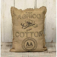 CWI Gifts Agrico Cotton Pillow - 11 Inches x 14 Inches