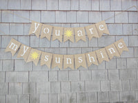 It's Party Time: 40Pcs Burlap Banner - Perfect DIY Party Decoration for a Wedding, Birthday, and Baby Shower