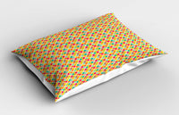 Retro Hipster Pillow Sham Decorative Pillowcase 3 Sizes Bedroom Decoration