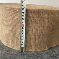 Burlap Fabric Roll diy Table Runner Chair Sashes for rustic wedding baby shower Gender Reveal restaurant centerpieces Decoration