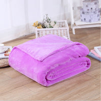70*100cm Flannel Comfortable Household Blanket Autumn And Winter Super Soft Keep Warm Sofa/Baby Blanket Baby Blanket