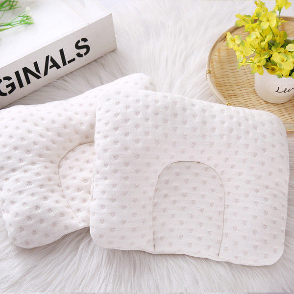2018 New Brand Cotton Cute Toddler Cartoon Pattern Baby Pillow Newborn Infant Comfortable Cushion Prevent Flat Head