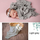 Newborn Photoprops Swaddling Baby Bedding Cotton Wrapped Blanket Baby Shooting Photo Wrap Infant Basket Backdrop Home Bath Towel