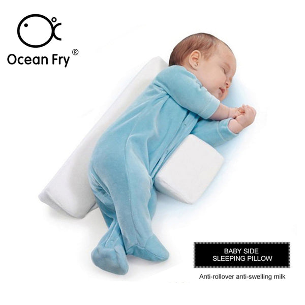 Baby Bedding Care Newborn Pillow Adjustable Memory Foam Support Infant Sleep Positioner Prevent Flat Head Shape Anti Roll Pillow