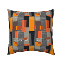 Bold Modern Decor Mid Century Modernist 50S Midcentury Pillow Sham by Roostery