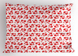 Valentines Pillow Sham Decorative Pillowcase 3 Sizes Available for Bedroom Decor