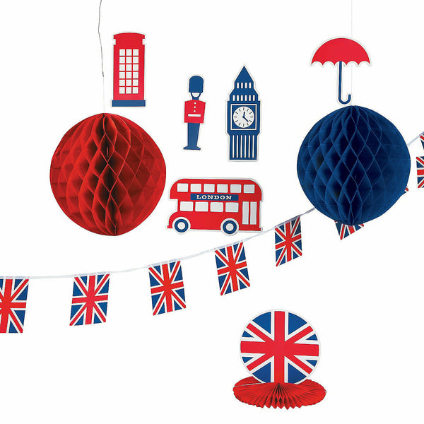 ROYAL BABY SHOWER DECOR KIT (10PC) - 10 pieces