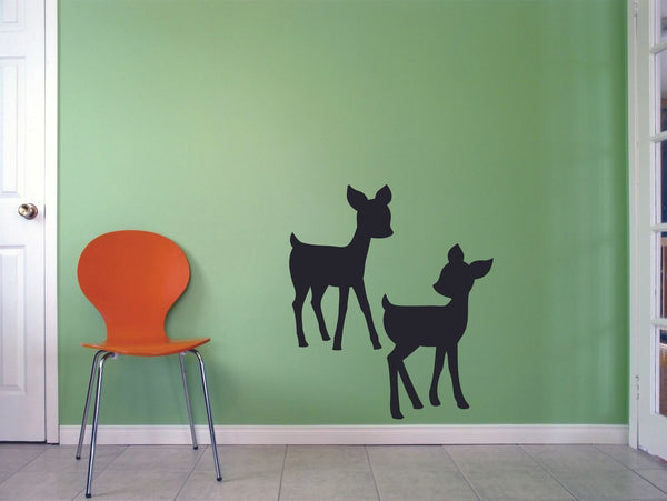Deer Baby Buck Jungle Zoo Bambi Wildlife Wall Sticker Vinyl Art Decals Decor