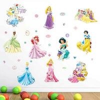 Disney Princess Removable Wall Stickers Nursery Decal Kids Girls Room Art Decor