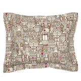 Gumdrop Houses Winter Holiday Christmas Sweet Decor Pillow Sham by Roostery
