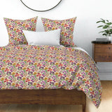 Floral Florals Flower Cut Paper Flowers Garden Decor Pillow Sham by Roostery