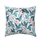 Flying Dragon Watercolor Mystical Fire Boy Nursery Decor Pillow Sham by Roostery
