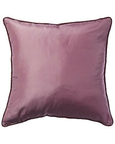 "$238! NWT Ann Gish 100% Silk Beaded Decorative Pillow Sham - 18"" x 18"" Hyacinth"