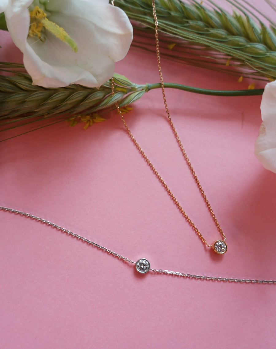 KISS ME ROSE NECKLACE 0,20