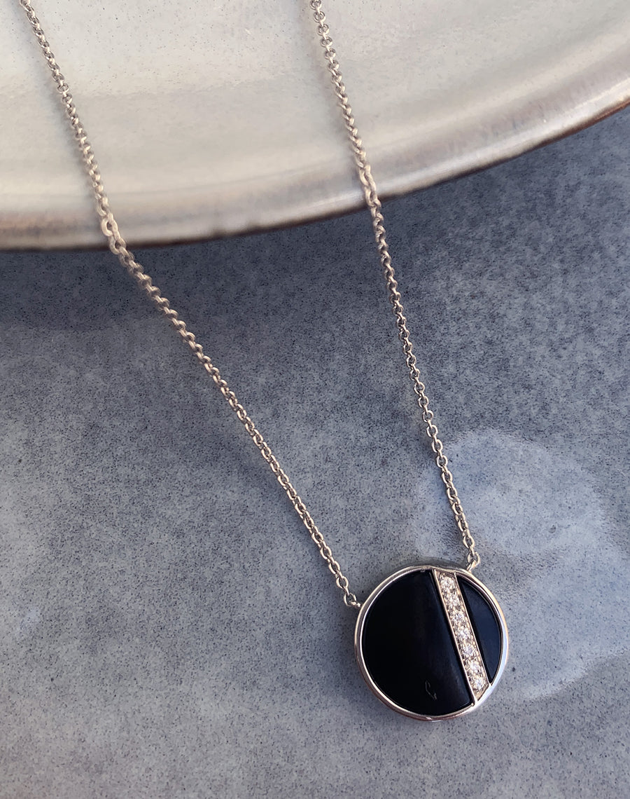 CITY NECKLACE ONYX