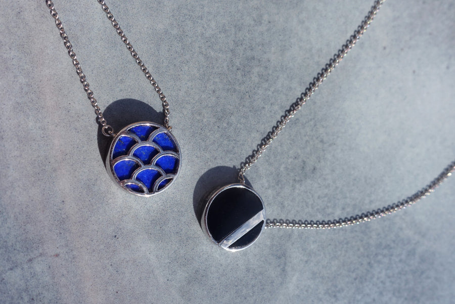 CITY NECKLACE LAPIS