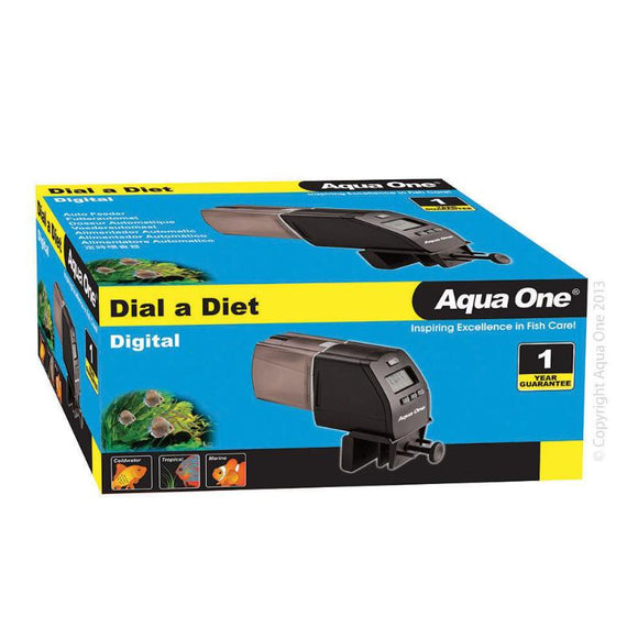 Aqua One - Dial-A-Diet Digital Auto Feeder - LCD Screen