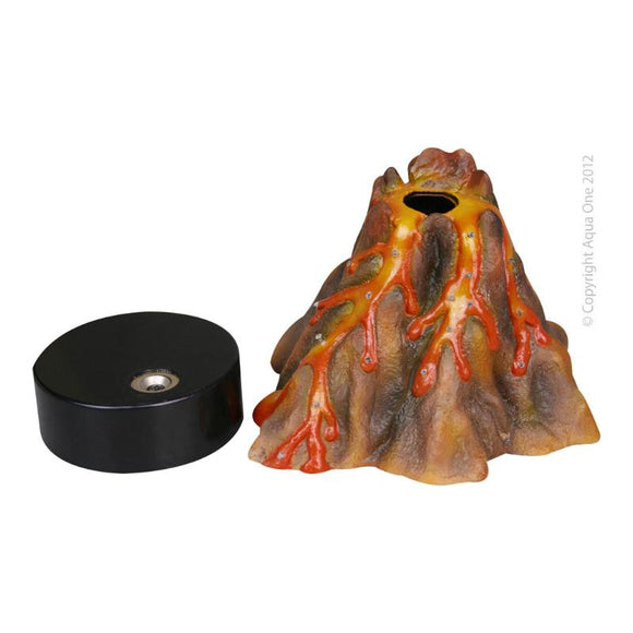 Aqua One - Ornament Air Operated Volcano W/LED
