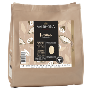 Ivoire 33% wit feves - 1 kg - Valrhona