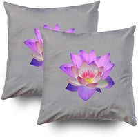 EMMTEEY Home Decor Throw Pillowcase for Sofa Cushion Cover,Reiki Chakra Lumbar Decorative Square Accent Zippered and Double Sided Printing Pillow Case Covers 16X16Inch,Set of 2
