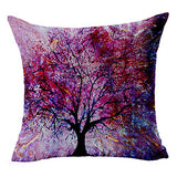 "LYN Cotton Linen Square Throw Pillow Case Decorative Cushion Cover Pillowcase for Sofa 18""X 18"" Lyn-82 (7)"