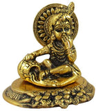 GoldGiftIdeas Oxidized Gold Plated Bal Gopal Idol (Mataki Krishna), Return Gifts for Baby Shower and Housewarming, Indian Pooja Items for Gift, Lord Krishna Showpiece for Home Decor (Pack of 5)