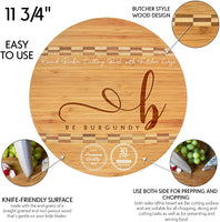 Personalized Cutting Board, Bamboo Cutting Board - Personalized Gifts - Wedding Gifts for the Couple, Engagement Gifts, Gift for Parents, Real Estate Agent Closing Gifts