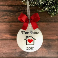 New Home Ornament 2020, Housewarming Gifts For New Home Personalized