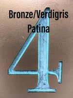 Modern House Numbers Vertical Rust Patina,House Numbers Sign, Address Plaque, Custom house Address, Realtor Closing Gift, Housewarming gift. FREE SHIPPING for a limited time. VC