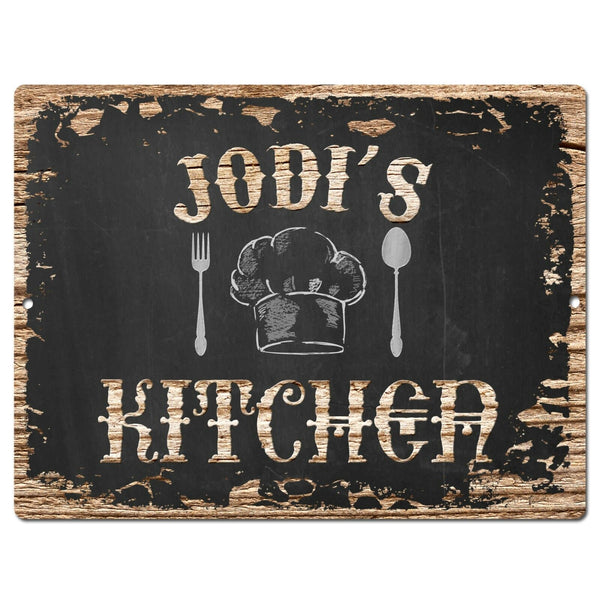 PP2276 JODI'S KITCHEN Plate Chic Sign Home Room Kitchen Decor Birthday Gift