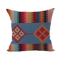 Ethnic Printed Pattern Design Attractive Cotton Linen Cushion Cover Pillow New
