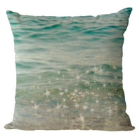 Summer Cool Pattern Cushion Cover Home Decor Linen Pillow Case New