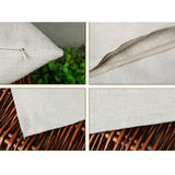 Simple Tree Style Cotton Linen Pillow Case Throw Cushion Cover Sofa Decor New